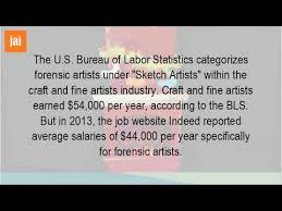 how much does a forensic artist make a year youtube