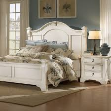 antique furniture bedroom sets heirloom bedroom set antique white posts bracket feet dcg stores