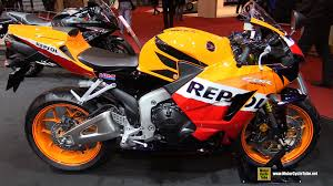 brand new honda cbr 600 2016 honda cbr600rr repsol walkaround 2015 salon moto paris