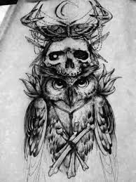 Owl Tattoos - 51 best owl tattoos images on owl design