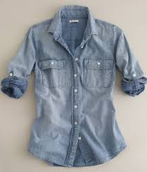 chambray blouse womens chambray blouse blouse with