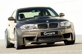 fastest bmw 135i bmw 1m by g power with v8 engine and 600 hp
