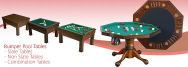 slate bumper pool table gametables4less shuffleboard tables foosball air hockey dome
