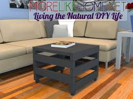 Wood Ottomans More Like Home Day 10 Build A Rolling Ottoman