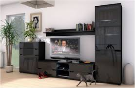 Black Gloss Living Room Furniture Black Gloss Display Cabinets Edgarpoe Net