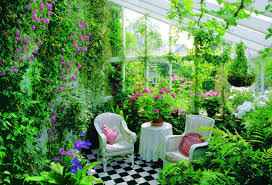 the interior of the garden room ideas for design