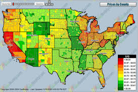 map us gas prices gas prices map of the united states neatorama