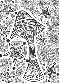 psychedelic mushroom coloring pages psychedelic mushroom