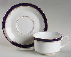 royal worcester howard cobalt blue gold trim at replacements