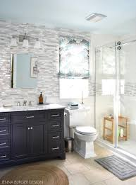 blown away by this master bathroom remodel filled with