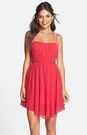 free shipping and returns on a drea sequin strappy skater dress