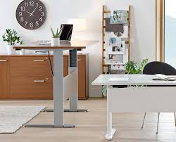 Motorized Adjustable Height Desk by Network Plus Sit Stand Desk 70 9w Desks Scandinavian Designs