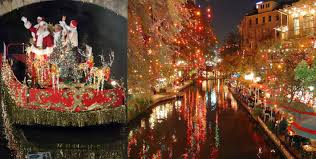 san antonio riverwalk christmas lights 2017 river walk condo owners celebrate holiday parade alteza