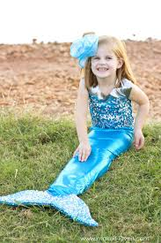 mermaid tails for halloween diy mermaid costume with a repositionable fin