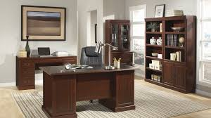 Sauder August Hill Computer Desk Heritage Hill Collection File Cabinet Home Office Desk With
