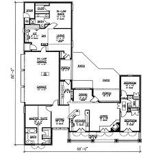 what is a split floor plan southern style house plan 4 beds 3 baths 2400 sq ft plan 320