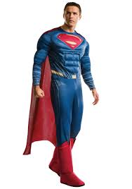 Halloween Costumes Size Size Deluxe Dawn Justice Superman Costume