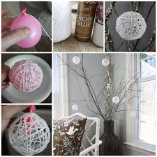 wonderful diy glittery snowball ornaments for