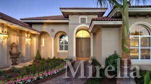 Beautiful Mediterranean Homes Mirella A Modern Mediterranean Home Plan Youtube