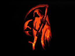 scary pumpkin wallpaper dark grim reaper horror skeletons skull creepy d wallpaper