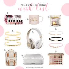 www my wish list nic s birthday wish list 2017 nickyashleigh