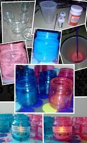 baby jar votive things you need empty jar paint brush mod podge