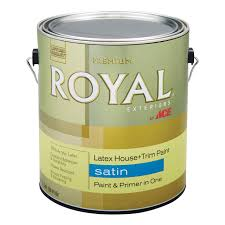 royal exterior latex satin house u0026 trim paint gallon exterior