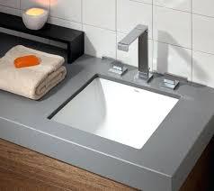 Granite Countertops For Bathroom Vanities Vanities Square Drop In Undermount Sink Drop In Bathroom Sink