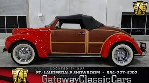 volkswagen old red 1973 volkswagen super beetle convertible gateway classic cars of