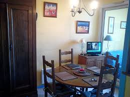 Landes Dining Room Studio T1 Bis For Rent Or Curiste Landes Aquitaine