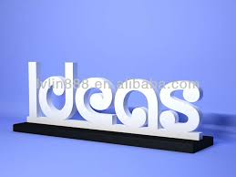 wooden letters home decor sign free standing wooden word