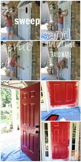 Paint A Front Door by Best 25 Front Door Painting Ideas On Pinterest Front Door Paint