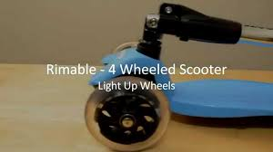 razor kick scooter light up wheels rimable foldable maxi kick scooter with led light up wheels review