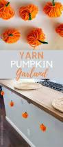easy diy pumpkin garland tutorial food fun kids