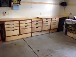How To Build Garage Storage by Easy Garage Storage And Bench 8 Steps With Pictures