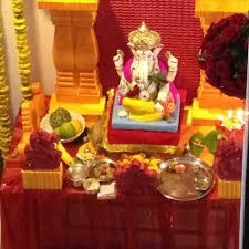 interior design cool decoration themes for ganesh festival at