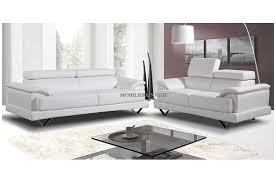 canapé 3 2 places extraordinaire canap cuir blanc design canape 3 et 2 places pas cher