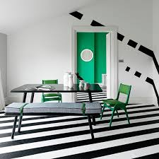 Black And White Striped Dining Chair Bold And Beautiful Black And White Stripes In Every Room