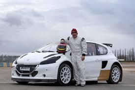 peugeot world former f1 champ jacques villeneuve joins world rallycross championship
