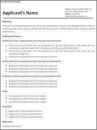 free printable resume best 25 free printable resume ideas on
