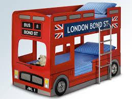 bowen london red bus bunk bed frame