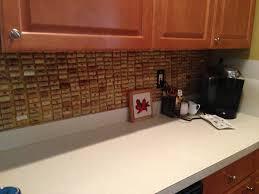 wine cork backsplash home ideas pinterest dma homes 39283
