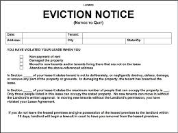 12 eviction notice template examples templates assistant