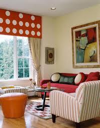 colorful and fun family room decor ideas with nice modern sofa set