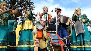 rostov on don russia 17 march the cossack maslenitsa a