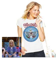 wayne u0027s world garth aerosmith t shirt wayne garth