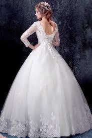 robe de mariã e princesse classique robe de mariée princesse 2017 avec manches longues en