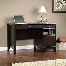 Wood Computer Desk Amazon Com Stanford Computer Desk Kitchen U0026 Dining