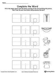 free worksheets phonics printables for kindergarten free math