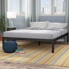 bed frame and mattress set wayfair